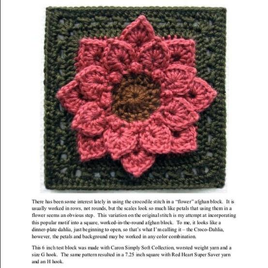 117 Best Crocodile Stitch Patterns Images On Pinterest Crocheted
