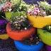Artesanatos Reciclagem: Reutilizar pneus velhos para criar uma jardim com flores