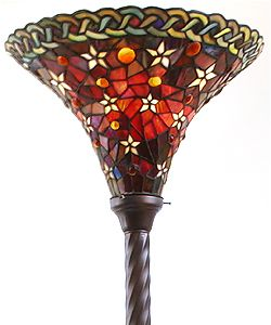 @Overstock.com.com.com.com - Enhance your home decor with this Tiffany-style lamp  Lamp features a Vintage Star Torchiere design  Accented with hints of deep mauve and emeraldhttp://www.overstock.com/Home-Garden/Tiffany-style-Vintage-Star-Torchiere-Lamp/1891826/product.html?CID=214117 $111.06