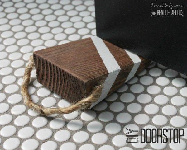 Super Easy DIY Doorstop