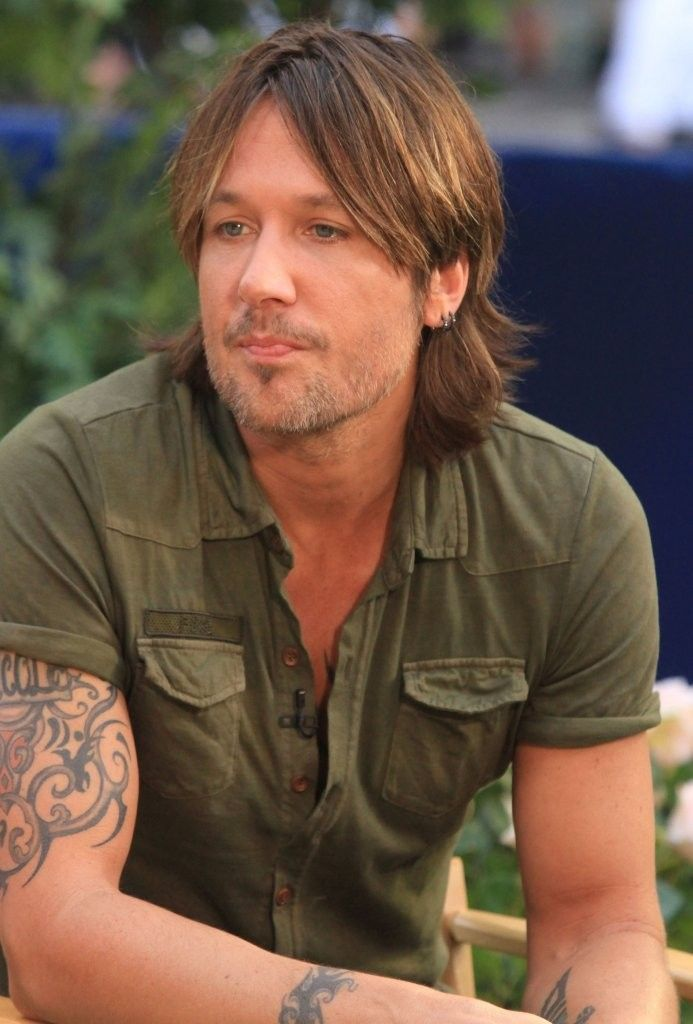 Keith Urban - Celebs Visit the ABC Studios for iHeart Radio announcement