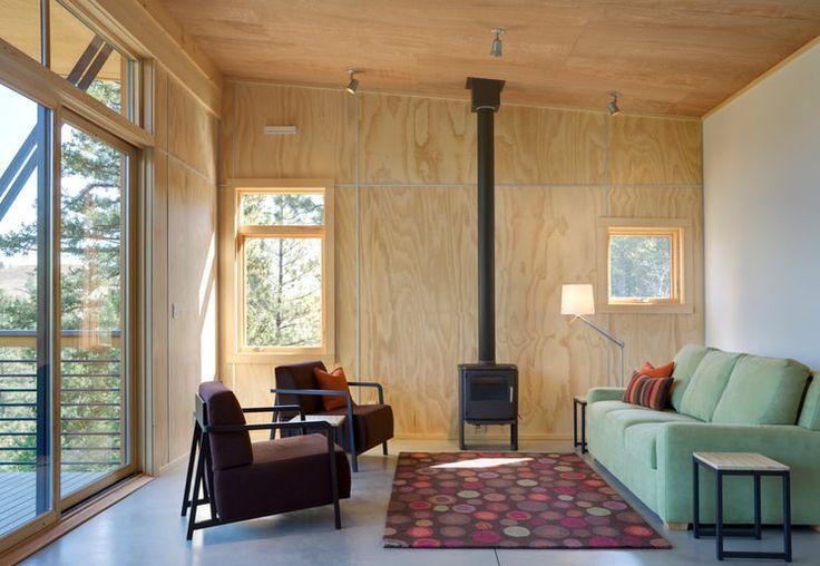 стены и потолки из фанеры