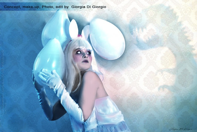 Artwork: These are not your eggs!  (Queste non sono le tue uova!)    Concept, make-up, Photo, edit by Giorgia Di Giorgio