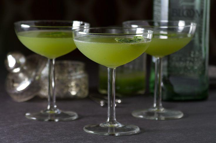Cocktails Cocktails Cocktails #cocktails     Happy Hour: Cucumber-Basil Gimlet Cocktail