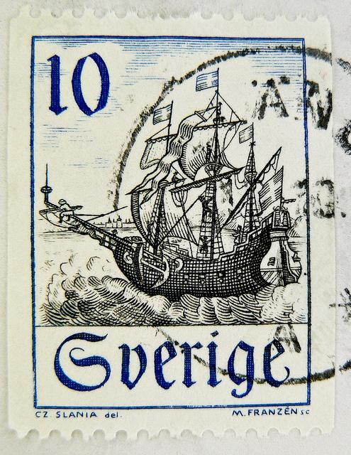 stamp Sweden frimärken Sverige