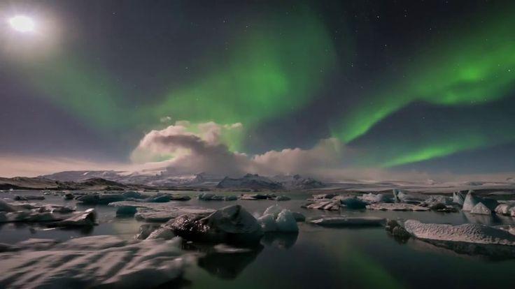 Полёты над Исландией #Iceland