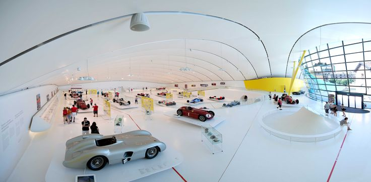 Museo Casa Enzo Ferrari (MEF) in Modena, project by Andrea Morgante. An exciting show (over 2500 square meters) to tell Enzo Ferrari 90 years long magic life. Products utilized: Crosa 2 , Walkie Plus , Comma