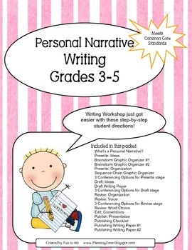 personal narrative writing prompts for middle school Your students will fill in the juicy details when they prepare for personal narrative writing with this fun watermelon-themed graphic organizer.