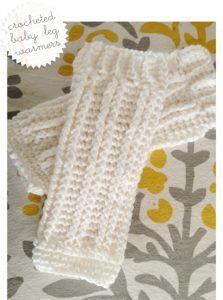 Crocheted Leg Warmers