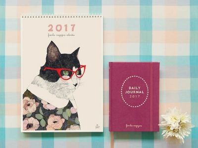 The 2017 frankie diary and calendar are back and available for pre-order. Hooray!