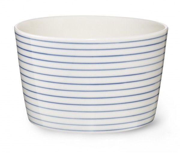Stripes Bowl small narrow blue line sr440b - Stripes Bowl small narrow blue line - collections