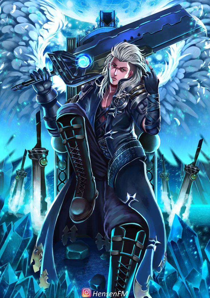 Alucard Child Of The Fall Wallpaper Hd Mobile Legends Alucard Mobile