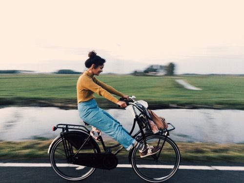 caseykaui: My last bike ride in amsterdam, after afternoons in...