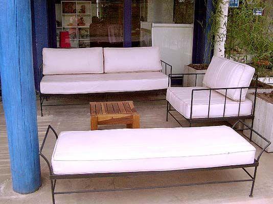 Banqueta de hierro consulte por promociones con bancos y for Muebles de jardin de hierro forjado