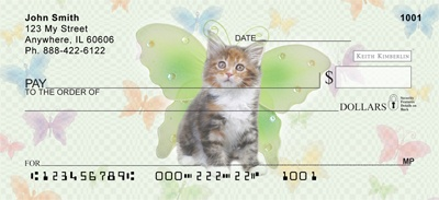 Looking for different checks, think I found one that combines my love of the feline with my love of fairies-fairy cats!