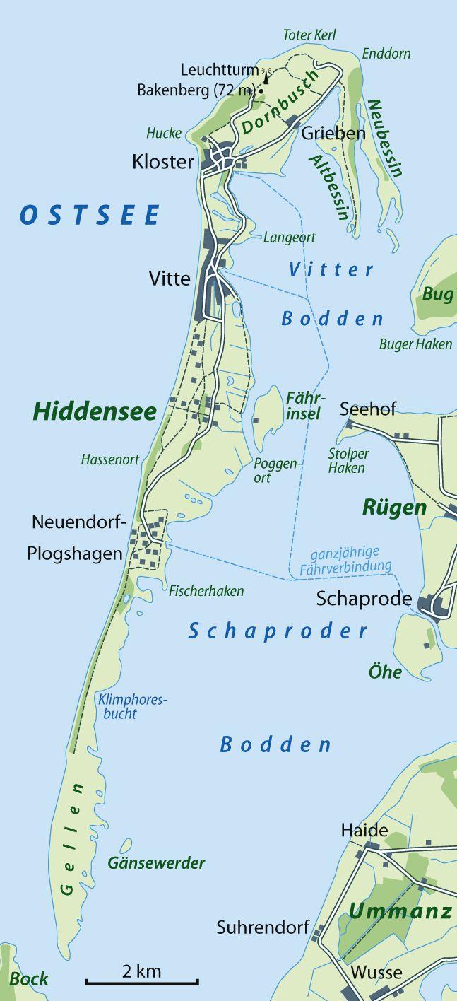Hiddensee ist die größte Insel des Nationalparkes Vorpommersche Boddenlandschaft und vereinigt eine alte Kulturlandschaft mit den Hutungen und der ursprünglich vorhandenen Dünenheide.
