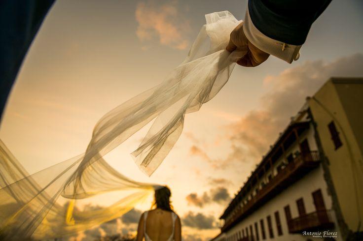 Antonio Flórez fotógrafo  wedding photo Cartagena de Indias Colombia