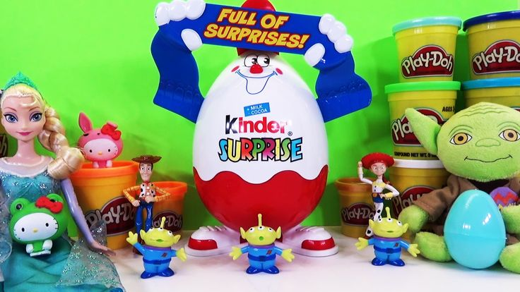 www.youtube.com/user/disneytoybox?sub_confirmation=1 We FINALLY got our HUGE Kinder Surprise Egg in so we HAD to fill it with some surprise eggs, blind baskets, mashems, and more to celebrate! We had Kinder Surprise Toys, a Chocolate Surprise Egg from Spongebob, a Season 2 Shopkins Blind Basket, a Transformers Mashems, Disney Princess Surprise Egg, all kinds of FUN Huevos Sorpresa. #KinderToys #KinderSurprise #Kinder #SurpriseEggs #Huevos #Sorpresa #Minions #Shopkins #Spongebob