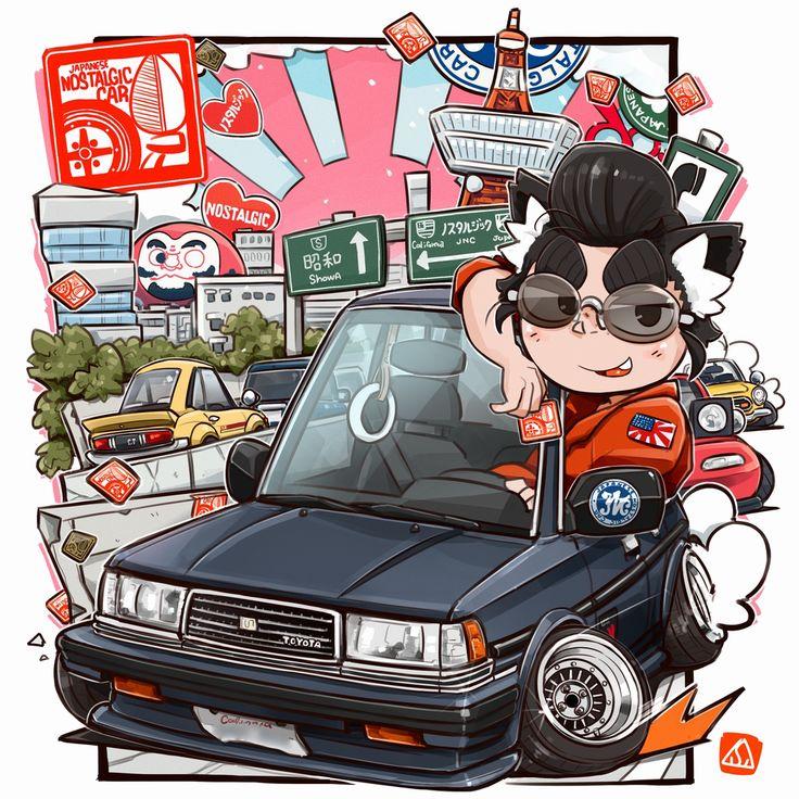 Ben Hsu Toyota Cressida Wagon by San Mamiya
