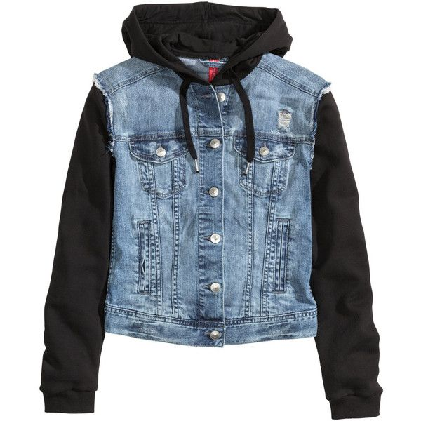 Best 25  Denim hooded jacket ideas on Pinterest | Jean jacket ...