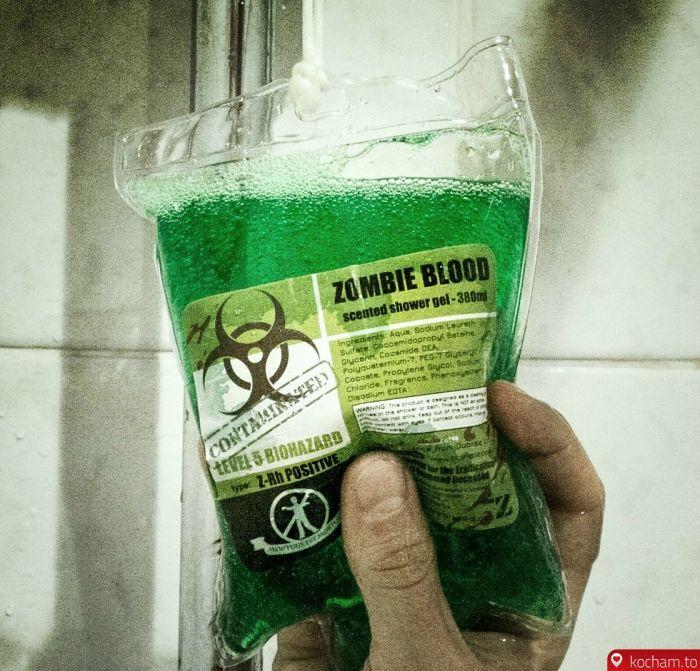 Kocham.to - Żel pod prysznic - zombie