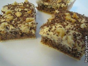 Chutný koláčik http://recepty.pozri.sk/recept-oblatkove-orechove-rezy-550