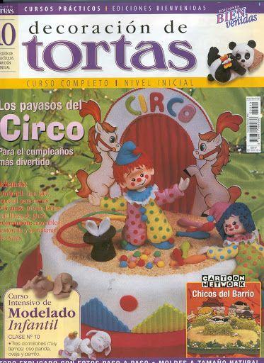 decoracion de tortas(Bienvenidas) No.10 los payasos del circo - Revistas De Reposterias y Mas - Веб-альбомы Picasa