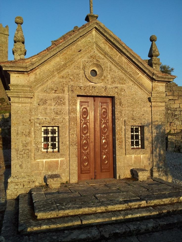Chapel in the historic village of Marialva  #Portugal