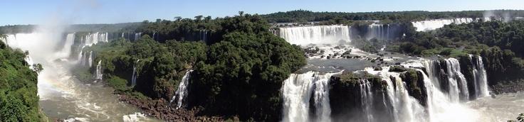 Panorama Iguazu-Wasserfälle Foz do Iguacu