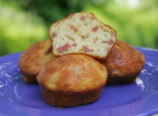 Recette de Muffins jambon-fromage : la recette facile