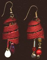 Silk Cocoon Earrings