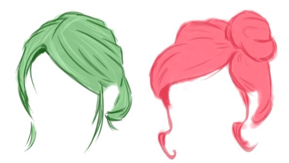 some hairs
