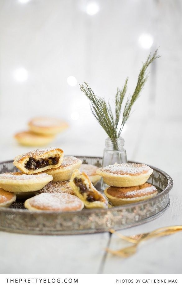 Christmas Mince Pies with Frangipane Topping #mincepies #southafrica