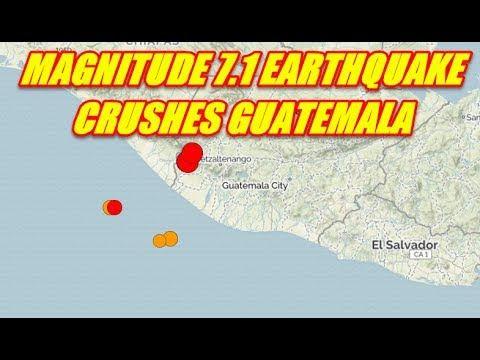 NIBIRU CHANNEL - BREAKING NEWS - MAGNITUDE 7.1 EARTHQUAKE CRUSHES GUATEMALA