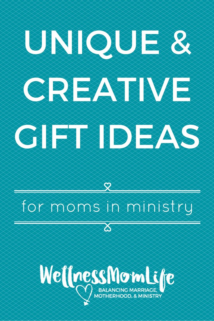Unique & Creative Gift Ideas for Moms in Ministry | Check out this post to get lots of great ideas, plus a giveaway (ends Dec. 3, 2016) via @wellnessmomlife