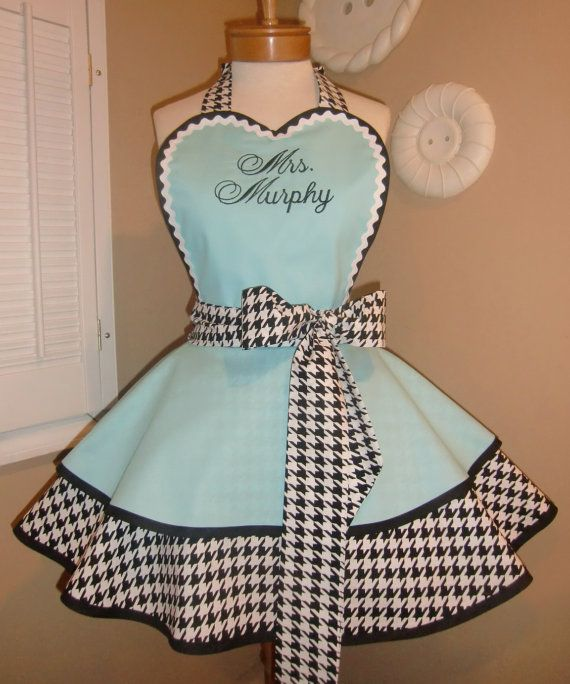 Aprons. Ordering Size Chart Fabric Pockets Piping Buttons Embroidery  Policies