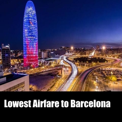 Visit #Barcelona at Lowest Airfare. Online booking is available.