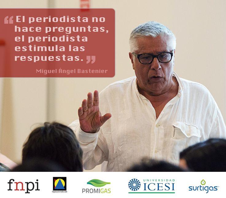 Temas de discusión en el taller con Miguel Ángel Bastenier.