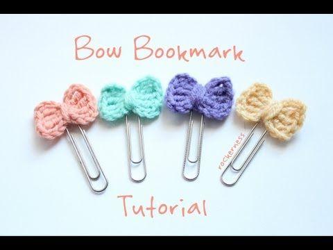 Kawaii Bookmark Tutorial - YouTube