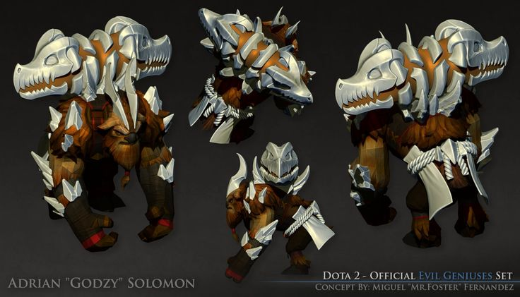 Dota 2 - Official EG  Earthshaker Set [High Poly], Adrian Solomon on ArtStation at https://www.artstation.com/artwork/dota-2-official-eg-earthshaker-set-high-poly