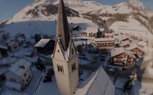 #Arabba hawk viewpoint during the winter - Dolomites Italy