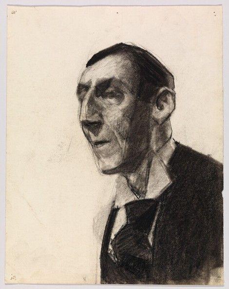 Edward Hopper, Portrait of a Man in Tie, 1899-06