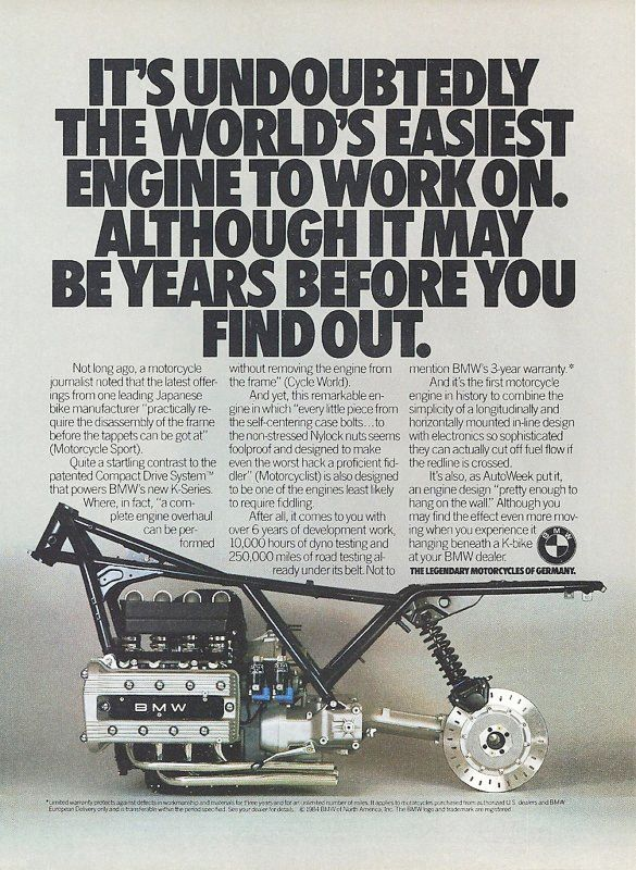It may be years before you find out! #retro #ad
