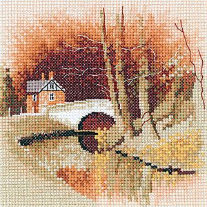 By The Canal – Cross Stitch Kit By Heritage Crafts
