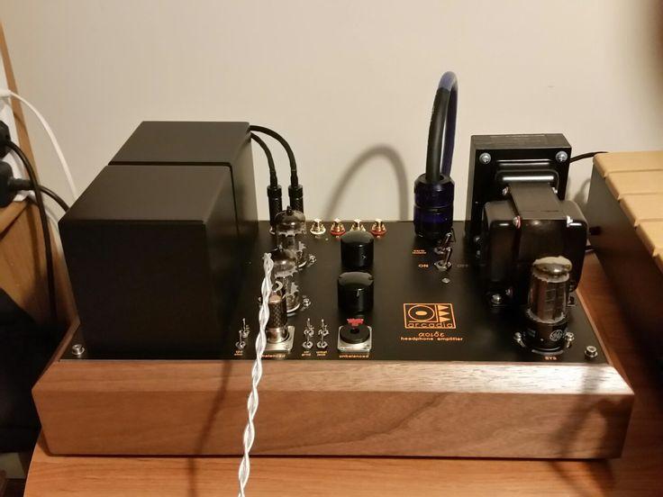 SJS Aoide Headphone Amplifier - DHT-SET E55L