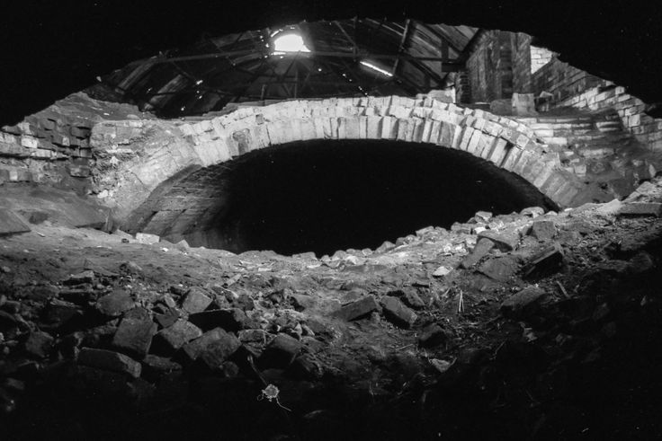 Photographs of the Oakwell Brickworks, Ilkeston - The Hoffman Kiln, Oakwell Brickworks, Ilkeston #5