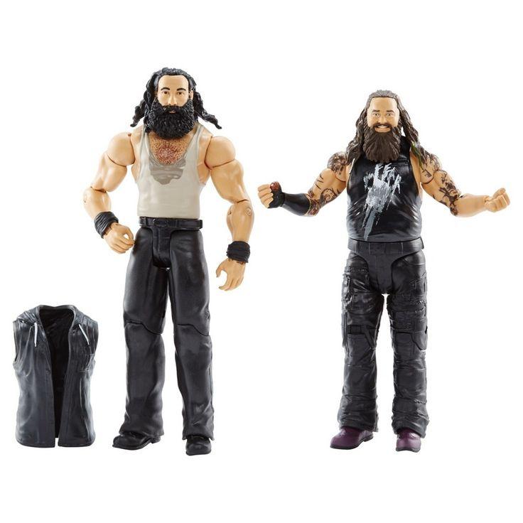 Wwe Erick Rowan and Braun Strowman Action Figure 2-Pack