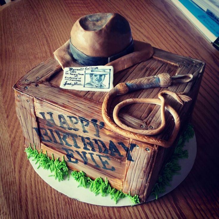 Indiana Jones Birthday Cake