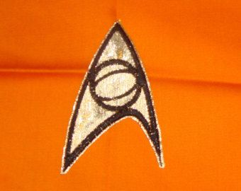 Star Trek (original series) Science badge Iron-on patch