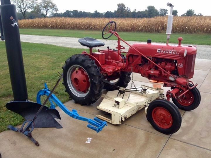 94 Best Images About Farmall Cub On Pinterest